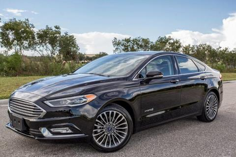 2017 Ford Fusion Hybrid for sale in Venice, FL