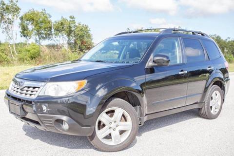 2011 Subaru Forester for sale at ATLAS AUTO in Venice FL