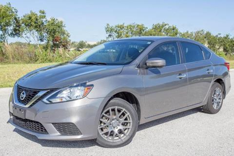 2016 Nissan Sentra for sale at ATLAS AUTO in Venice FL