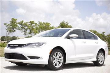 2015 Chrysler 200 for sale at ATLAS AUTO in Venice FL