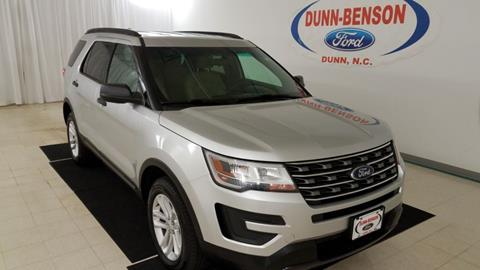 2016 Ford Explorer for sale in Dunn, NC