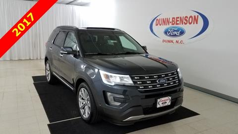 2017 Ford Explorer for sale in Dunn, NC