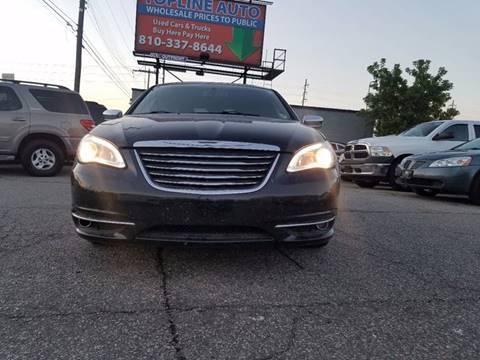2013 Chrysler 200 for sale at TopLine Auto in Burton MI