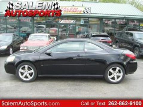 2006 Pontiac G6 for sale in Trevor, WI
