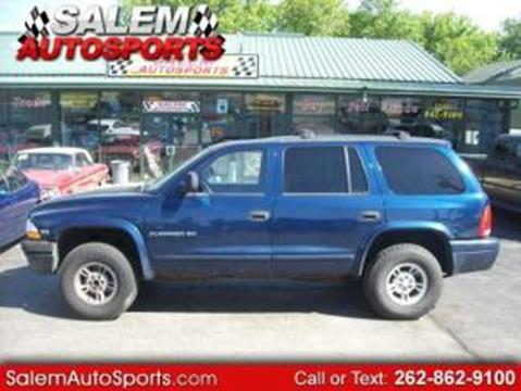 1999 Dodge Durango for sale in Trevor, WI
