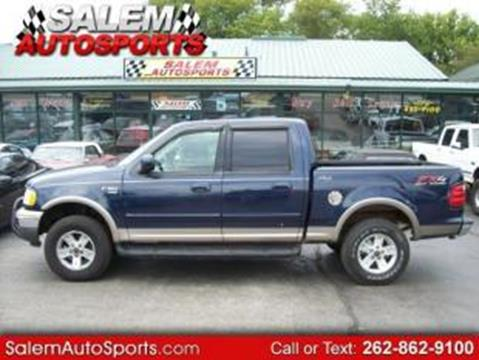 2003 Ford F-150 for sale in Trevor, WI