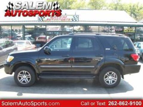 2007 Toyota Sequoia for sale in Trevor, WI