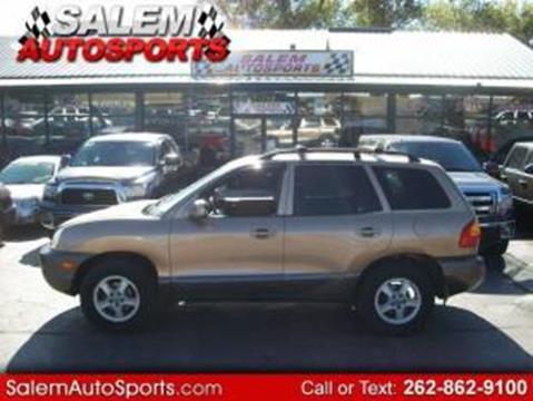 2002 Hyundai Santa Fe for sale in Trevor, WI