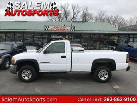2005 GMC Sierra 2500HD for sale in Trevor, WI