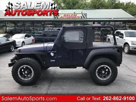 1998 Jeep Wrangler for sale in Trevor, WI