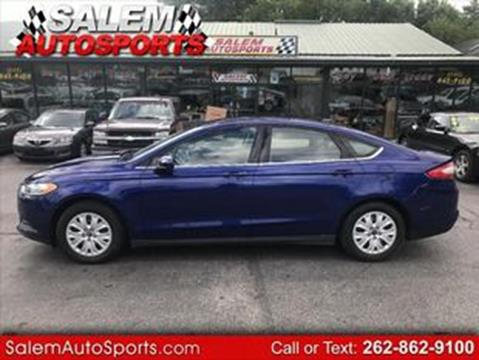 2013 Ford Fusion for sale in Trevor, WI