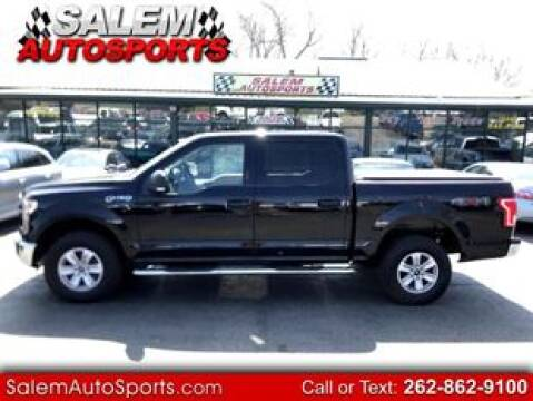 2016 Ford F-150 XLT for sale at Salem Autosports in Trevor WI