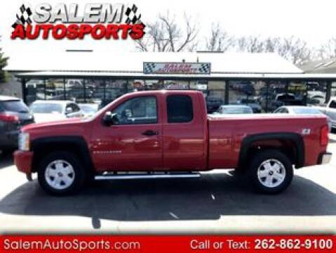 2008 Chevrolet Silverado 1500 for sale at Salem Autosports in Trevor WI