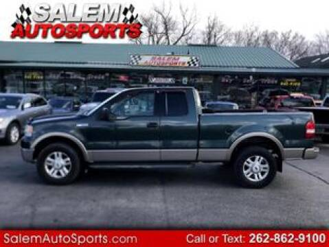 2004 Ford F-150 for sale at Salem Autosports in Trevor WI