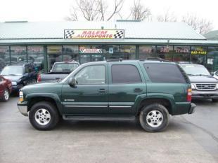 2002 Chevrolet Tahoe for sale in Trevor, WI