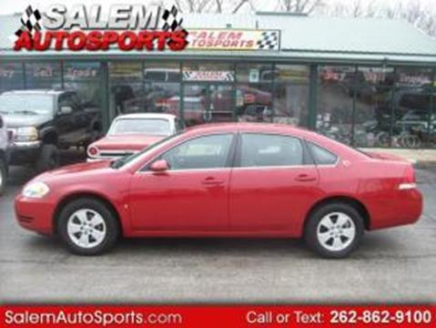 2008 Chevrolet Impala for sale in Trevor, WI