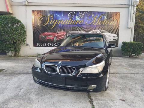 2008 BMW 5 Series for sale in Spring, TX