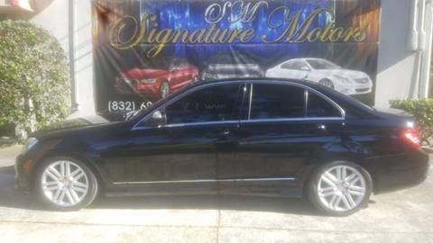 2009 Mercedes-Benz C-Class for sale in Spring, TX