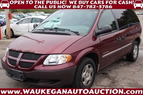 2001 Dodge Caravan for sale in Waukegan, IL