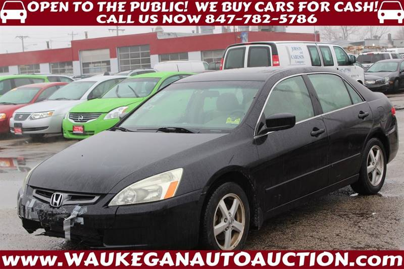 2003 Honda Accord EX Used Cars In Waukegan, IL 60085