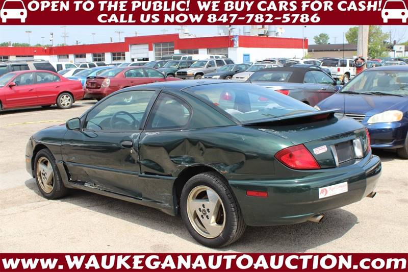2003 Pontiac Sunfire 2dr Coupe In Waukegan Il Waukegan Auto Auction