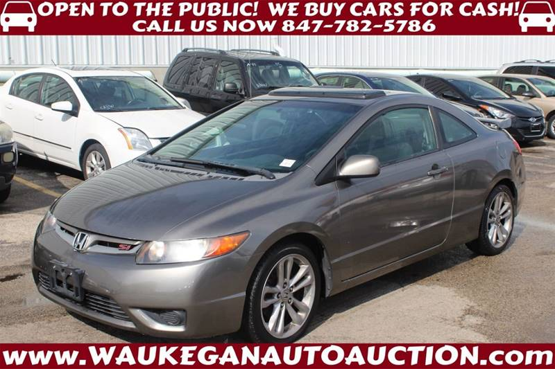 2008 Honda Civic Si 2dr Coupe   Waukegan IL