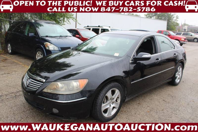 Acura Rl SHAWD Dr Sedan In Waukegan IL Waukegan Auto Auction - 2005 acura rl for sale by owner