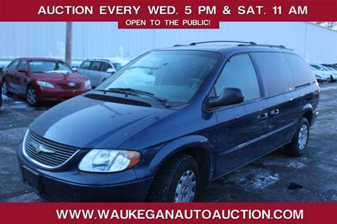2002 Chrysler Town and Country for sale in Waukegan, IL