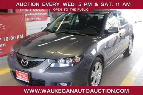 2009 Mazda MAZDA3 for sale at Waukegan Auto Auction in Waukegan IL