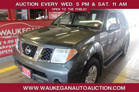 2005 Nissan Pathfinder for sale at Waukegan Auto Auction in Waukegan IL