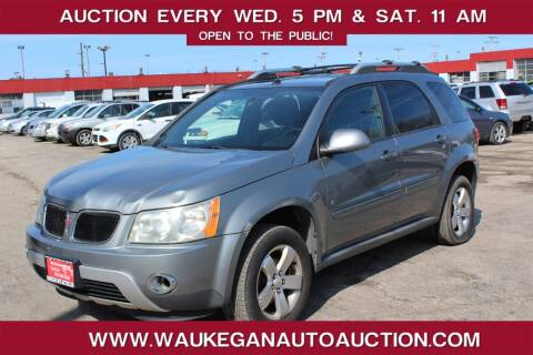 2006 Pontiac Torrent for sale at Waukegan Auto Auction in Waukegan IL