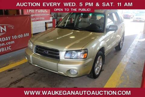 2004 Subaru Forester for sale at Waukegan Auto Auction in Waukegan IL