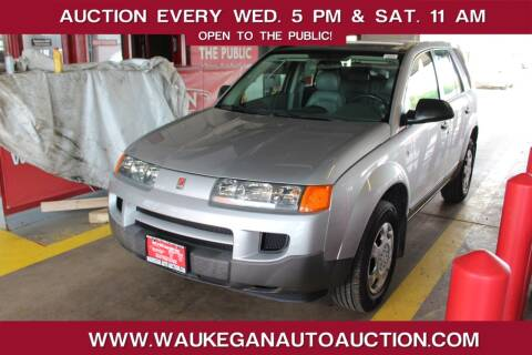 2003 Saturn Vue for sale at Waukegan Auto Auction in Waukegan IL