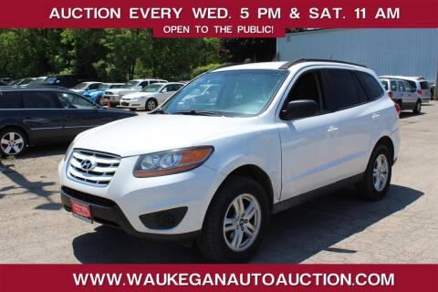 2010 Hyundai Santa Fe for sale at Waukegan Auto Auction in Waukegan IL