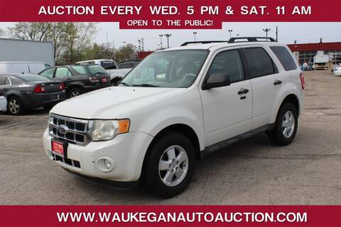 2009 Ford Escape for sale at Waukegan Auto Auction in Waukegan IL