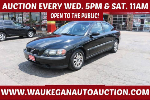 2004 Volvo S60 for sale at Waukegan Auto Auction in Waukegan IL