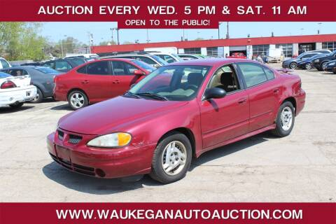 2005 Pontiac Grand Am for sale at Waukegan Auto Auction in Waukegan IL