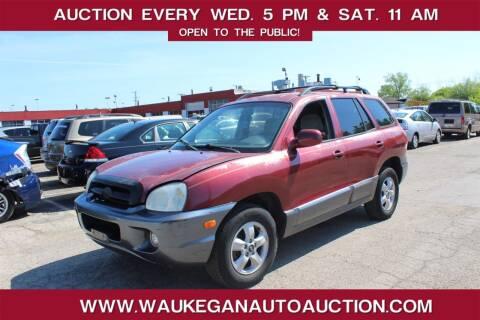 2005 Hyundai Santa Fe for sale at Waukegan Auto Auction in Waukegan IL