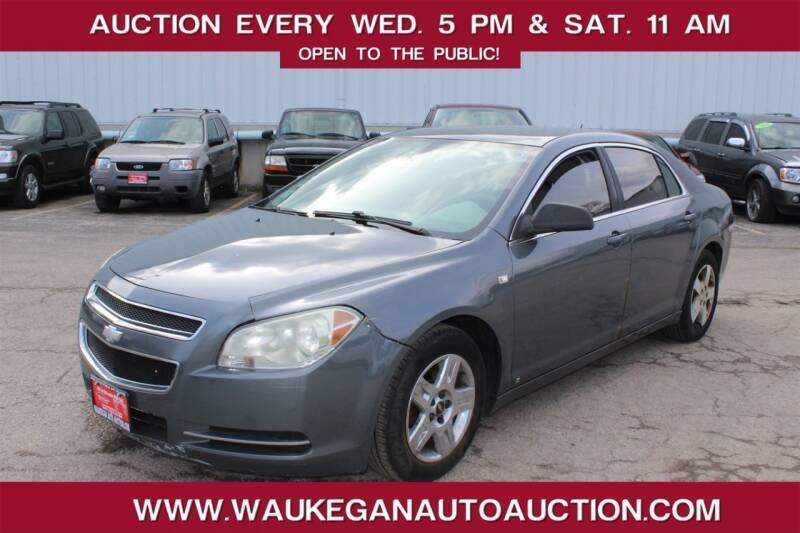 2008 Chevrolet Malibu for sale at Waukegan Auto Auction in Waukegan IL