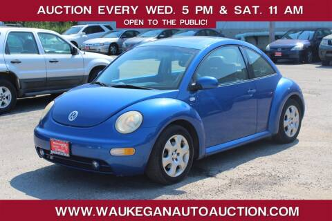 2002 Volkswagen New Beetle for sale at Waukegan Auto Auction in Waukegan IL