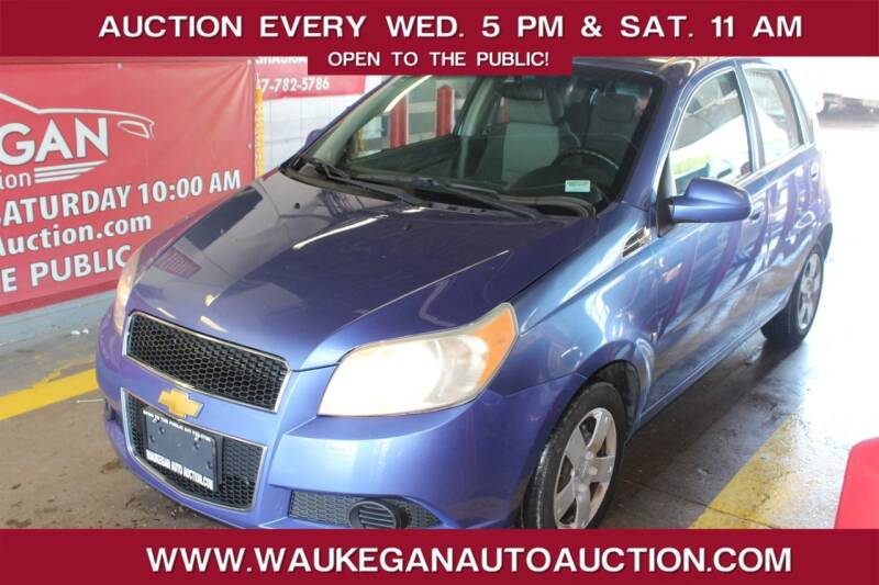 2009 Chevrolet Aveo for sale at Waukegan Auto Auction in Waukegan IL