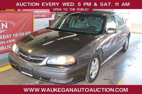 2003 Chevrolet Impala for sale at Waukegan Auto Auction in Waukegan IL