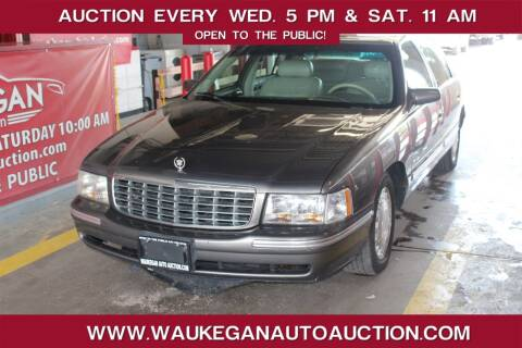 1998 Cadillac DeVille for sale at Waukegan Auto Auction in Waukegan IL