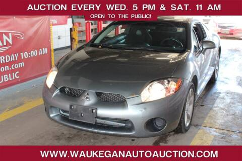 2008 Mitsubishi Eclipse for sale at Waukegan Auto Auction in Waukegan IL