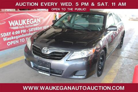 2010 Toyota Camry for sale at Waukegan Auto Auction in Waukegan IL