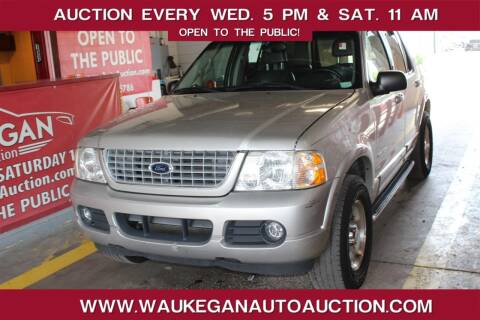 2002 Ford Explorer for sale at Waukegan Auto Auction in Waukegan IL