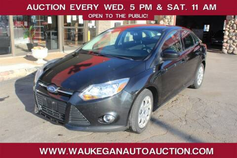 2012 Ford Focus for sale at Waukegan Auto Auction in Waukegan IL