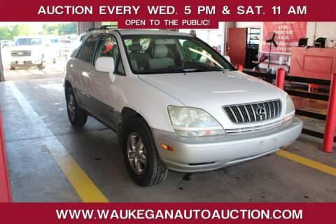 2002 Lexus RX 300 for sale at Waukegan Auto Auction in Waukegan IL