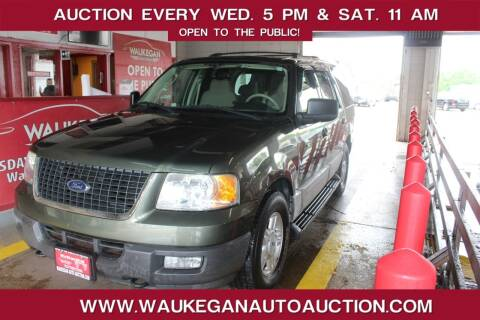 2004 Ford Expedition for sale at Waukegan Auto Auction in Waukegan IL