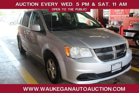2012 Dodge Grand Caravan for sale at Waukegan Auto Auction in Waukegan IL